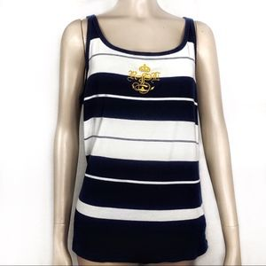 Lauren Ralph Lauren striped tank top